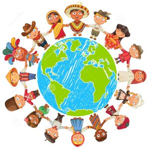 http://www.dreamstime.com/stock-photos-earth-day-nationalities-different-culture-standing-together-holding-hands-unity-children-around-world-vector-illustration-image48375733