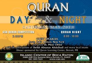 Quran Day n Night 2017