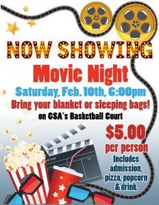 GSA PTO Movie Night
